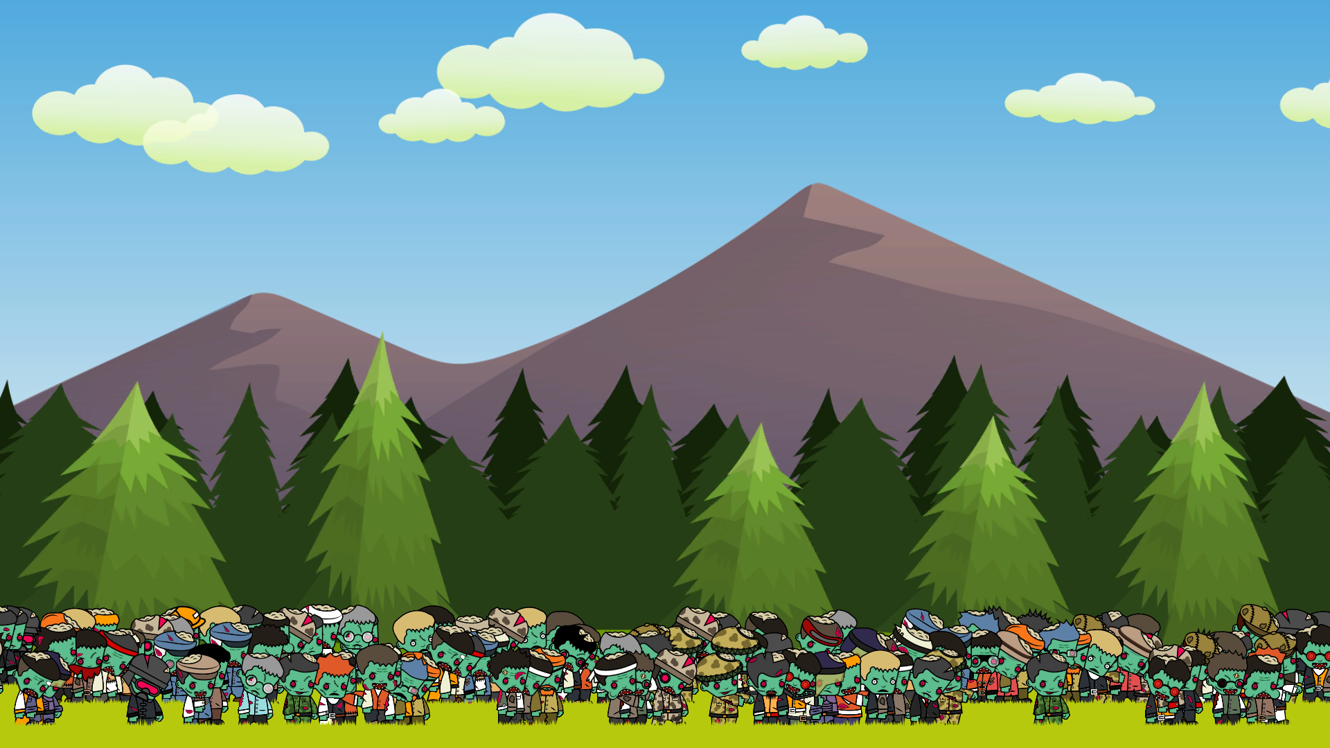 Zombie Forest HD